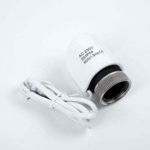 230V 2W NC Electric Thermal Actuator Manifold For Underfloors Heating Thermostat