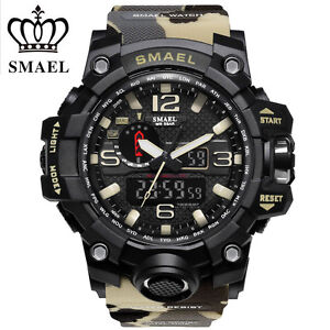 SMAEL-Men-Sport-Military-Watch-LED-Dual-Display-Digital-Electronic-Wristwatches