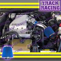 88 89 90 91 92 93 94 Chevy Cavalier Z24 2.8 2.8l\3.1 3.1l V6 Air Intake Kit Blue