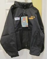 Frog Toggs Ntg6501-01 Karta Black Jacket With Hood Indy 500 Small