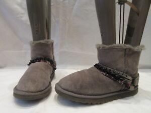 Ugg 1787 4 Ankel Australia Uk Støvler Grey Suede Ekte 37 Mini 5 Eu SwCgBCx