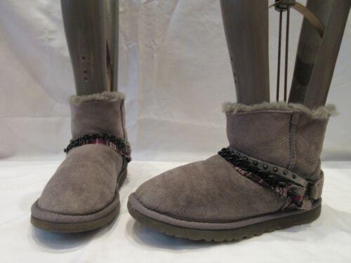 Ekte Mini Ugg Uk Suede 5 4 Grey 1787 Støvler Australia Eu 37 Ankel rFnr0q