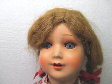 MES-40435Alte Pappmache-Kopf Puppe H:ca.44cm,Körper gemarkt:K40W,