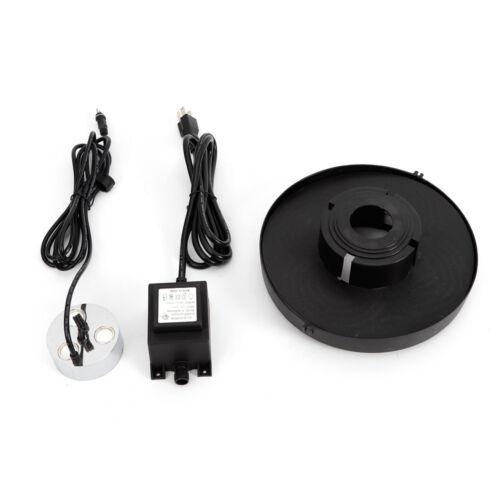 Fog machine Pond Water fogger humidifier fountain 3 head Ultrasonic Mist Maker