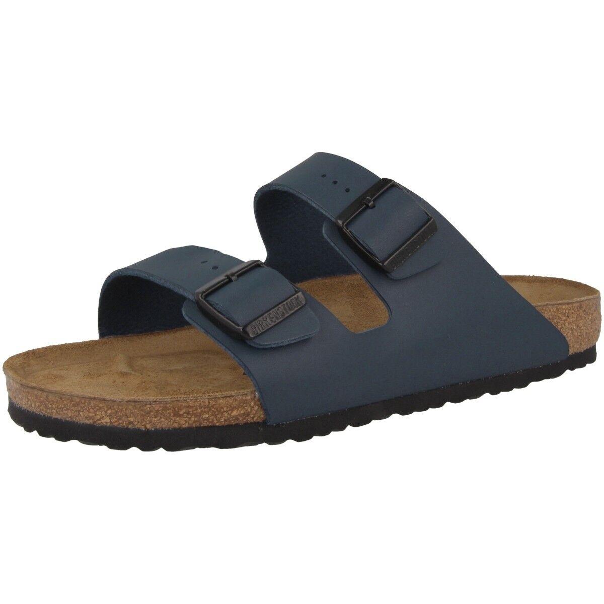 Birkenstock Arizona Birko-Flor Schuhe Blau 051751 Sandale Weite normal