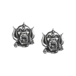 Motorhead-Warpig-Stud-Earrings-Alchemy-Gothic-Rocks-Jewellery-PE1