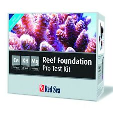 Red Sea RCP Reef Foundation Pro Test Kit - Marine Reef Calcium Magnesium KH