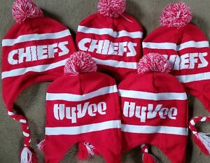 KC Kansas City Chiefs Kingdom Promo SGA Giveaway Stocking Cap Hat ... bd0beadeb462