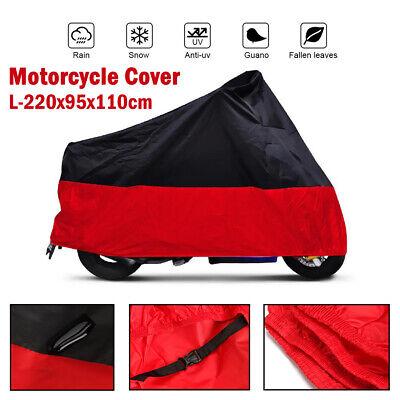 L Waterproof Motorcycle Cover For Honda CB CBF 500  600 650 750 900 1000 CB1 US