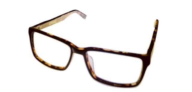 John Varvatos V336 Eyeglasses Brown Horn