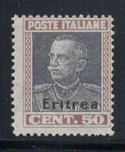 Eritrea-1928-Sass-128-Nuovo-100-50-centesimi