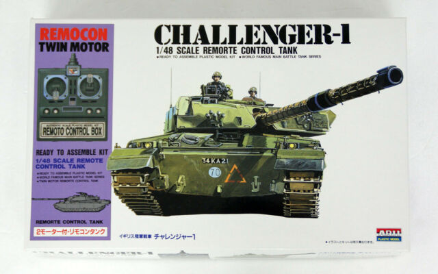 Arii 441534 Challenger-1 British Remote Control Tank 1/48 Scale Kit