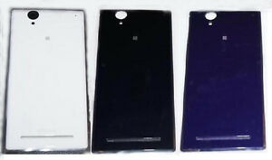 outlet store 6abb3 1311f Details about Housing Back Rear Battery Cover Case For Sony Xperia T2 Ultra  D5303 D5306 D5322