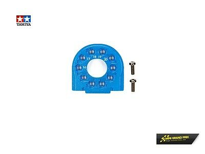 Tamiya TT-02/B Alu Motorhalter Blau eloxiert 54558