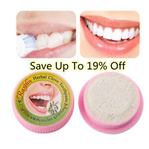 ISME-Rasyan-Herbal-Clove-Zahnpasta-Zahnaufhellung-antibakteriell-Zaehne-Zahn-E8L2