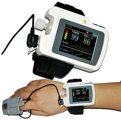 FDA Respiration Sleep Monitor for Sleep Apnea SPO2+Software+Pulse Rate Analysis