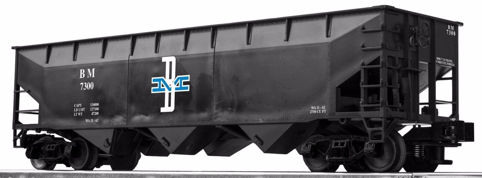 Lionel lionscale Boston & Maine 3-Bay Offset Hopper 6-Pack