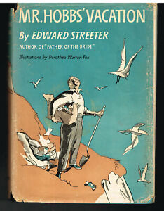 Mr-Hobbs-Vacation-by-Edward-Streeter-1954-Stated-1st-Ed-Vintage-Book