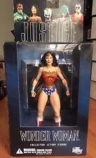 WONDER WOMAN Action Figure DC DIRECT JLA JUSTICE LEAGUE designed ALEX ROSS nuova