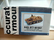 Model Resin Kit Accurate Armour K42L BT7-M1937 Soviet Fast Tankl on 1:35 in Box