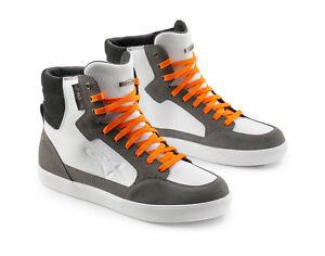 Details zu KTM Alpinestars WP Shoes weiß grau orange wasserdicht