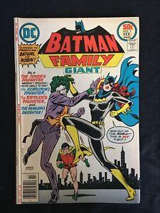 BATMAN-FAMILY-9-MID-GRADE-BRONZE-AGE-DC-COMICS-JOKER-039-S-DAUGHTER-BATGIRL-COVER