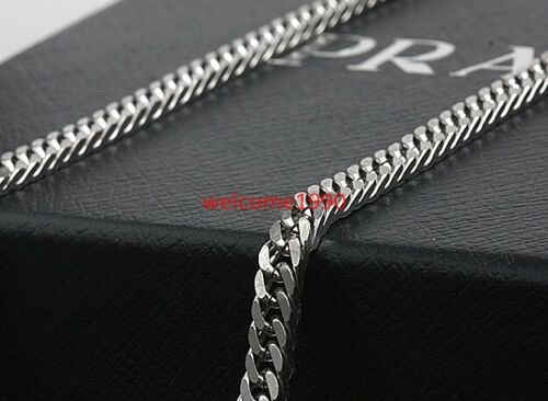 in bulk Lot Silver Stainless steel High Quality Curb chain Jewelry finding 4mm