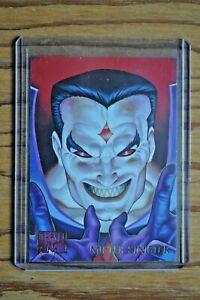 # 1 Apocalypse. 1995 Marvel Masterpieces 1 Single Base Card