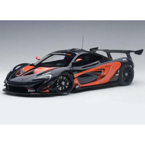 AUTOart McLaren P1 GTR 1:18 81543 Dark grigio Metallic with arancia Accent