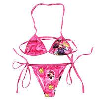 Baby Girls Kids Toddler Mickey Mouse Bathing Swimwear Tankinis Bikini Swimsuit