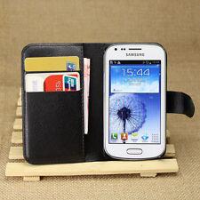 Samsung Galaxy ACE2X ACEII X S7562/GT-S7560M Trend Duos Stand Flip Wallet Case