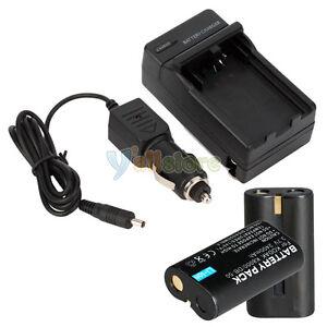 2-Battery-Charger-for-KODAK-KLIC-8000-Z612-Z712-IS-Z812-IS