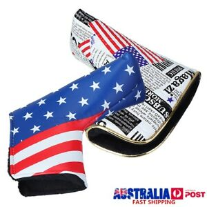 Universal-Golf-Blade-Putter-Club-Head-Cover-Protect-PU-Headcover-OP-AA