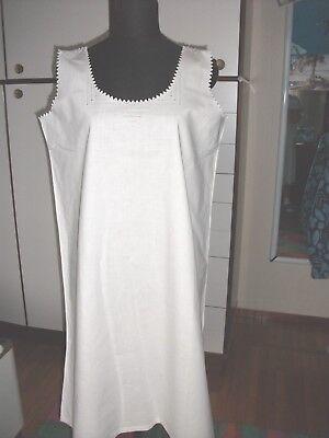 Antica Camicia Da Notte Ricamata A Mano - Primi 900