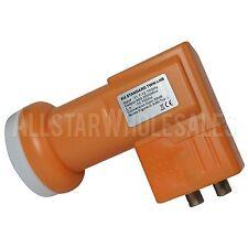 NEXspark KU Band Dual Twin Linear FTA Satellite Dish 10750 LNB 950-2000Mhz