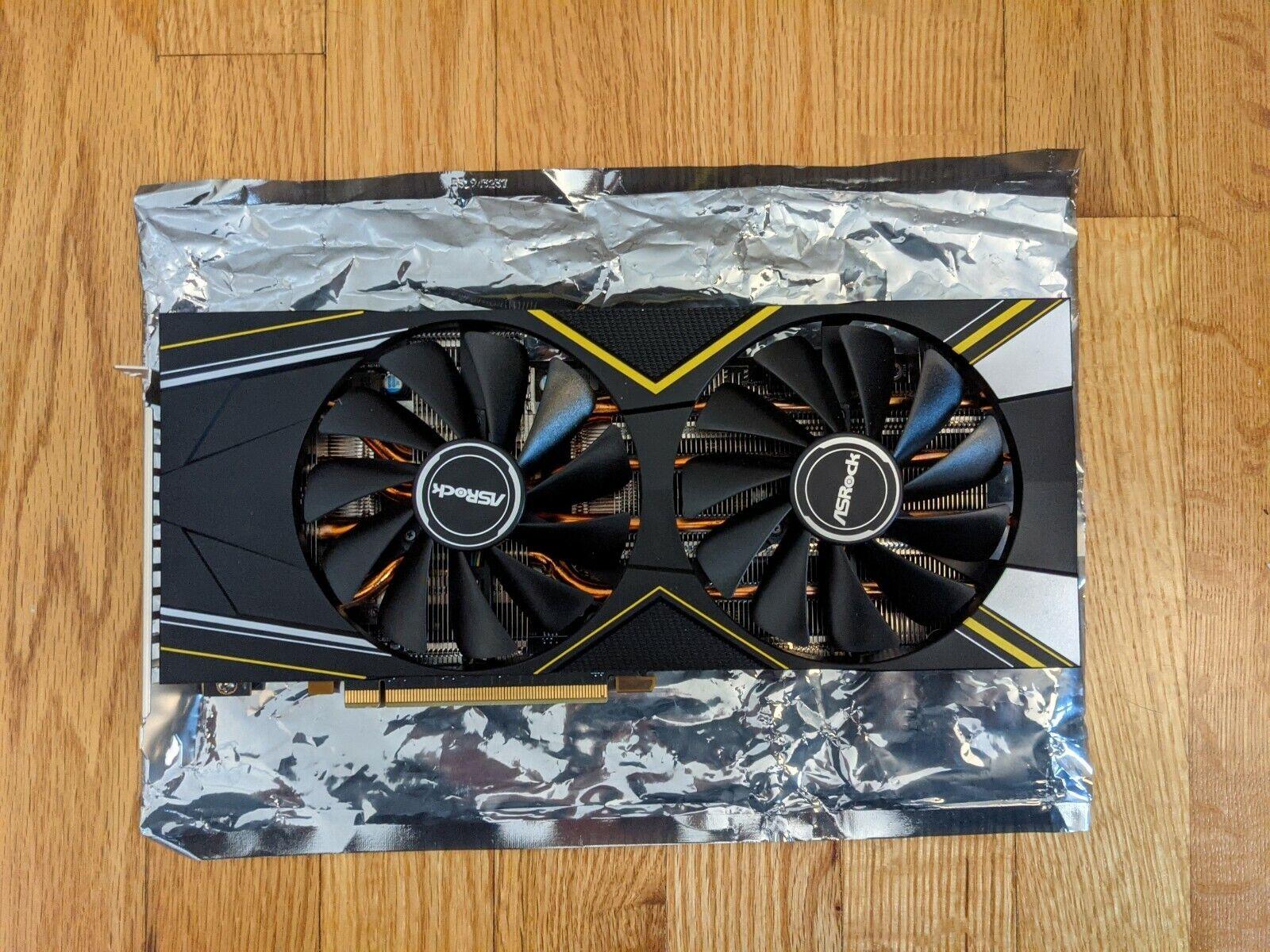 ASRock AMD RX 5700XT Challenger D OC 8GB Graphics Card GPU