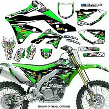 ALL YEARS KX 60 GRAPHICS KIT KAWASAKI KX60 85-04 DECO DECALS STICKERS MOTOCROSS