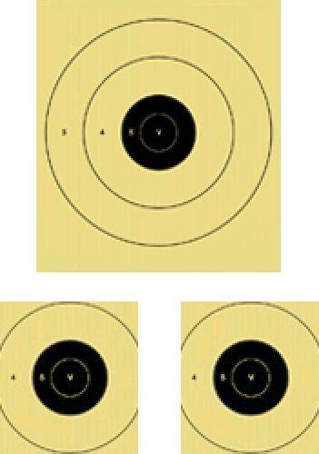 """5 V /& centres 64/"""" X 72/"""" plié 500//600 Yard MILITAIRE FUSIL /""""B/"""" Baker cible"""