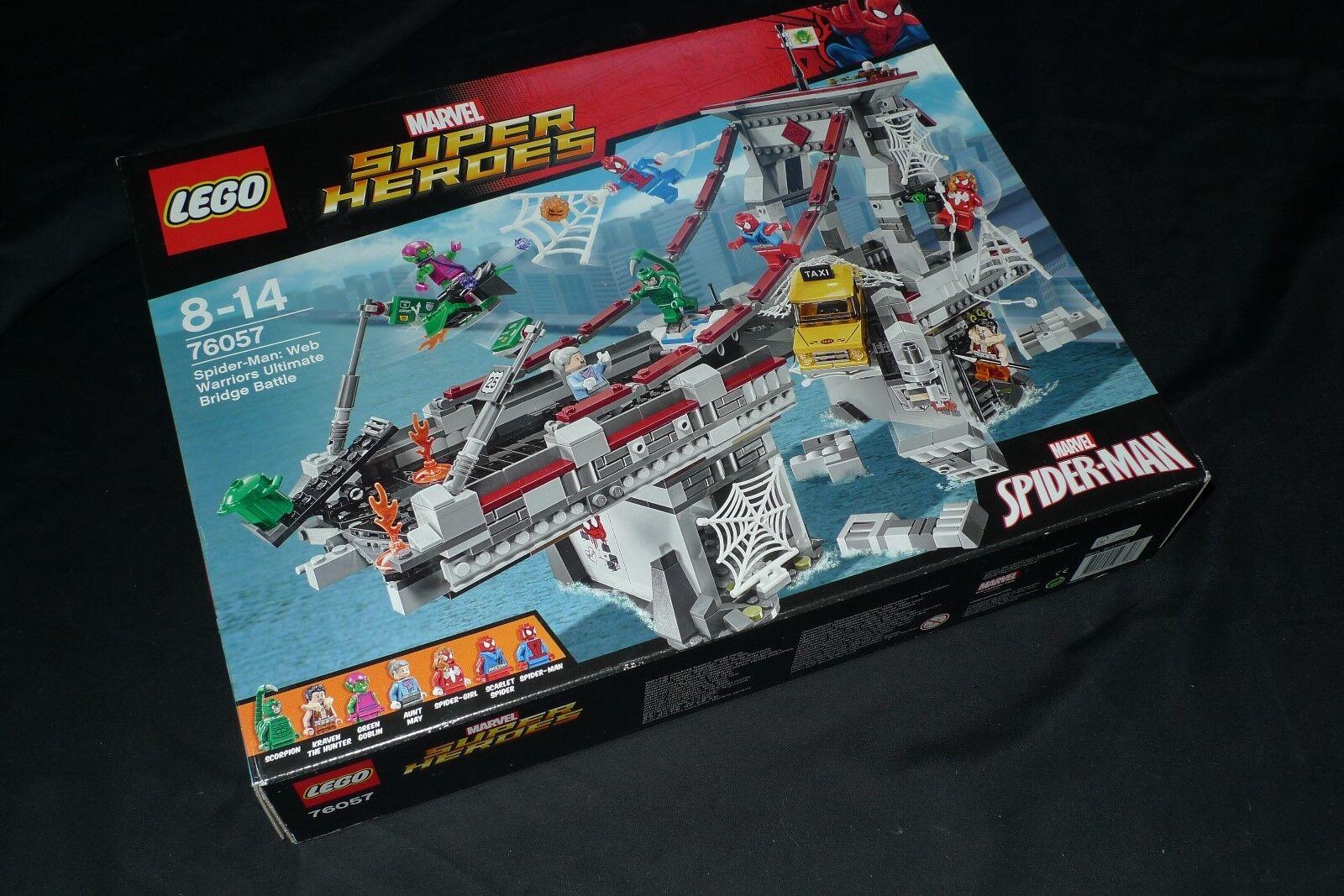 LEGO 76057 SUPER HEROES - herren RAGNO - SPIDER MAN - MARVEL NUOVO SIGILLATO