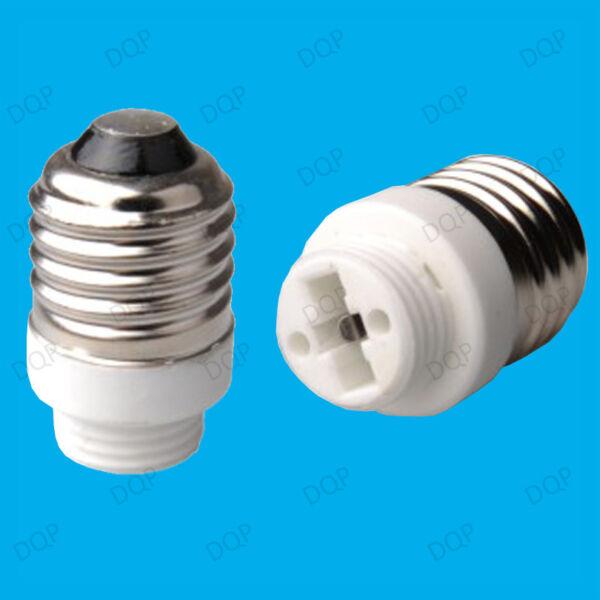 100x A Vite Edison E27 Per G9 Lampadina Adattatore Presa Lampada Convertitore