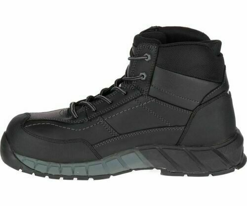 Mens Caterpillar Streamline Mid LCT Leather Work Boots : P722540
