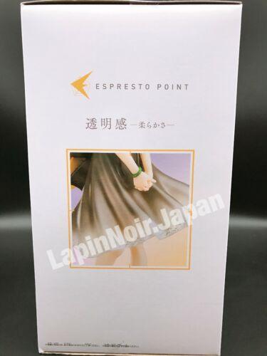 Bakemonogatari Monogatari Figure Shinobu Oshino ESPRESTO Clear materials BANPRES