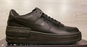 Details about Nike Women's Air Force 1 Shadow AF1 Black Fashion Sneakers  CI0919-001 Size 7.5