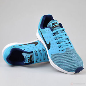 a23d69ef8 Nike Downshifter 7 Running Training Shoes Mens SZ 12 Blue Black ...