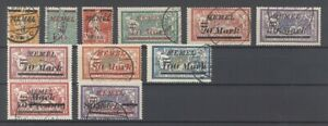 Memel-Mi-Nr-110-20-aus-Freimarken-1922-gestempelt-26478