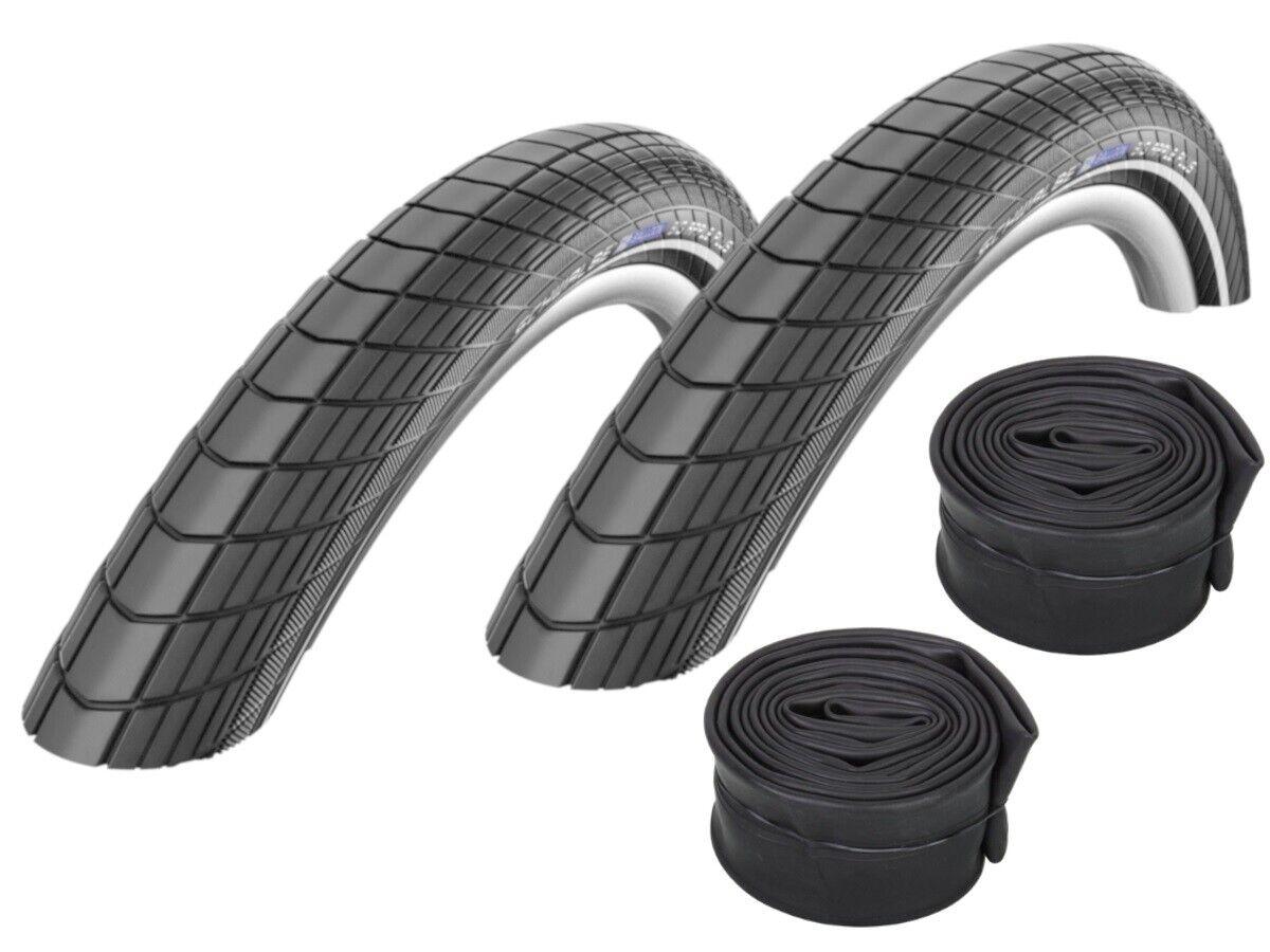 2 Pcs  Schwalbe Big Apple plus Tire Flat Tire Predection 20   26   28   + Hoses  wholesale