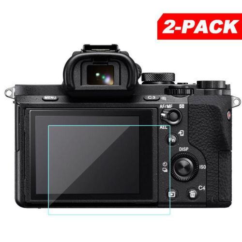 2 Pzas / Set 9h 0.3mm Protector de Pantalla para Sony Alfa A7ii A7iii A7sii