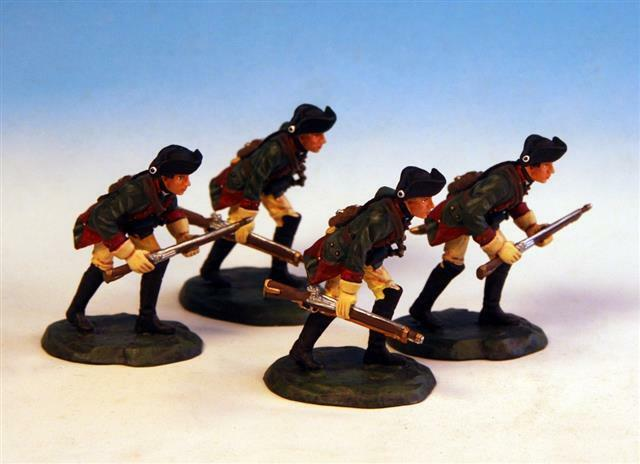 GUS.3 - 4 Advanceng Skirmish Order - Frontline Figures