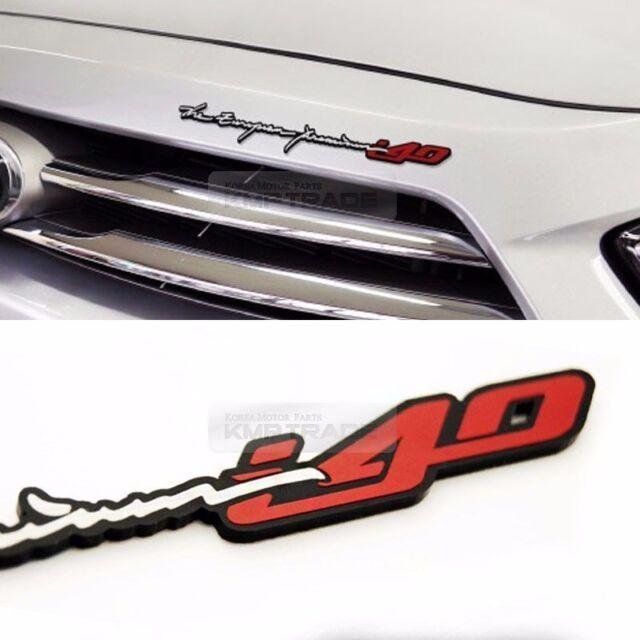 Saloon Lettering Trunk Badge EMBLEM Genuine Parts For Hyundai i40 2012 2016