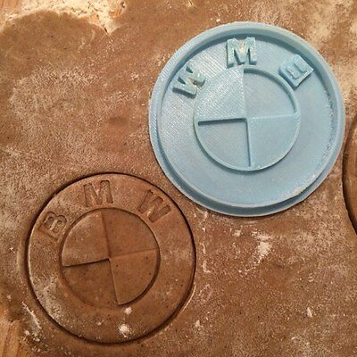 Plastic 3d printed 1pcs PLA New Batman Emblem Logo cookie cutter